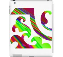 Pattern & Colour. iPad Case/Skin