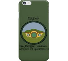 Bagend Bed and Breakfast iPhone Case/Skin