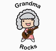 Grandma Rocks Womens Fitted T-Shirt