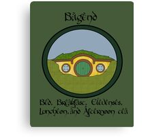 Bagend Bed and Breakfast Canvas Print