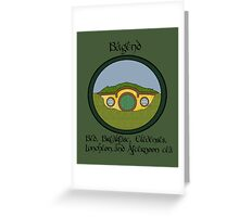 Bagend Bed and Breakfast Greeting Card