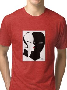 The beauty and the gimp Tri-blend T-Shirt