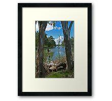 Campaspe River,Elmore Framed Print