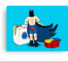 Holy Laundry Day! Canvas Print
