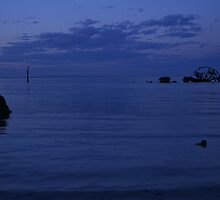 Indented Head at dusk by Bellarine