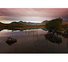 Rannoch Moor, Scotland Photographic Print