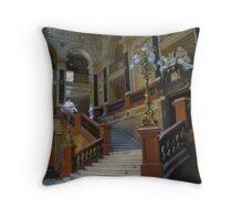 Lvov Opera House Interior Throw Pillow