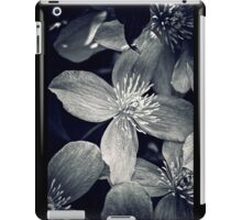 Clematis in Monochrome iPad Case/Skin