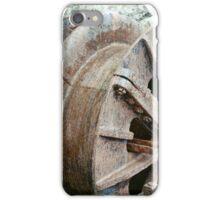 Rusty wheel iPhone Case/Skin