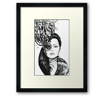 Fashion woman Framed Print
