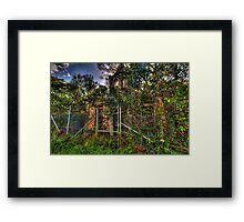 The Ruins #2 - Tarban Creek Lunatic Asylum - The HDR Experience Framed Print