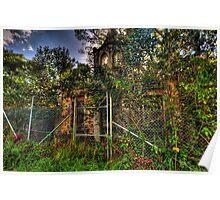 The Ruins #2 - Tarban Creek Lunatic Asylum - The HDR Experience Poster