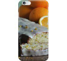 Orange Drizzle Cake iPhone Case/Skin
