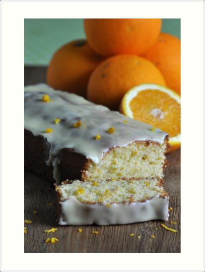 Orange Drizzle Cake by Heather Thorsen