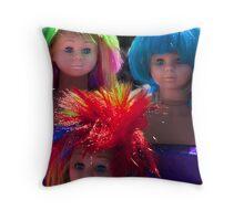 Party Girls Throw Pillow