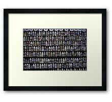 Ceramic Fridge Magnets, Amsterdam (Netherlands)  Framed Print