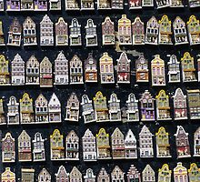 Ceramic Fridge Magnets, Amsterdam (Netherlands)  by Petr Svarc