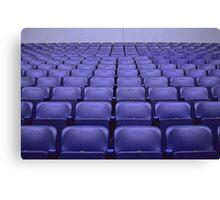 Empty Stadium Seating, Ajax Amsterdam Arena  Canvas Print