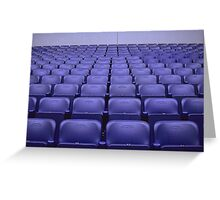 Empty Stadium Seating, Ajax Amsterdam Arena  Greeting Card