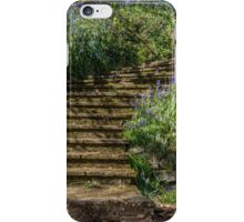 Follow the bluebell path iPhone Case/Skin