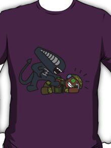 Alien vs. Marine 2 alt T-Shirt