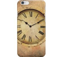 Vintage Clock iPhone Case/Skin