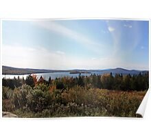 Rangeley Lakes Poster