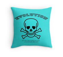 EVOLUTION at work! Throw Pillow