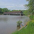 Harpersfield Covered Bridge by Jack Ryan