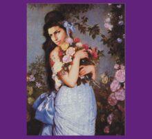Amy Winehouse in a Rose Garden  T-Shirt