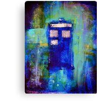 Blue Box Canvas Print
