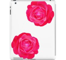 Two pink roses iPad Case/Skin