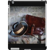Civil War Hat and Sack iPad Case/Skin