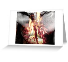 Vengeance Consumes Greeting Card