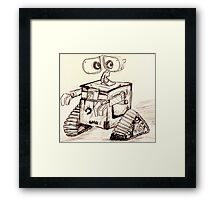 Wall-e Framed Print