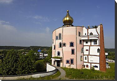 Rogner Thermal Spa and Hotel by Hundertwasser in Bad Blumau, Austria by Petr Svarc