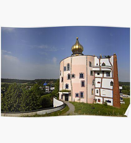Rogner Thermal Spa and Hotel by Hundertwasser in Bad Blumau, Austria Poster