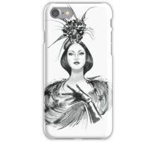 Fashion woman  iPhone Case/Skin