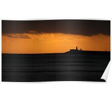 East Pier Sunrise Poster
