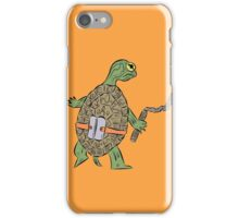 Hatchling Ordinary Ninja Turtles - Mikey iPhone Case/Skin