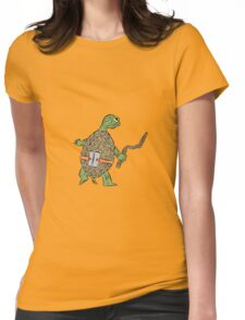 Hatchling Ordinary Ninja Turtles - Mikey Womens Fitted T-Shirt