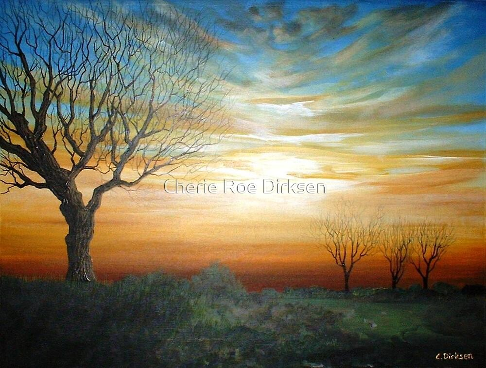 Tree at Sunset by Cherie Roe Dirksen