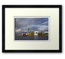 Seaport Rotterdam Framed Print