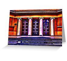 Old Museum Belgrade Fine Art Print Greeting Card