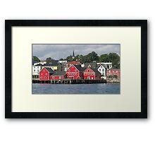 Lunenburg Nova Scotia Framed Print