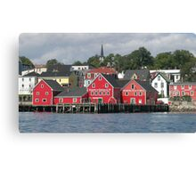 Lunenburg Nova Scotia Canvas Print
