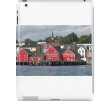 Lunenburg Nova Scotia iPad Case/Skin