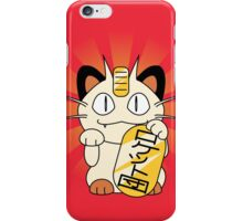 Payday Cat iPhone Case/Skin