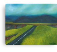Road to Solitude Canvas Print