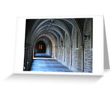 The Light at the End of the Tunnel Greeting Card
